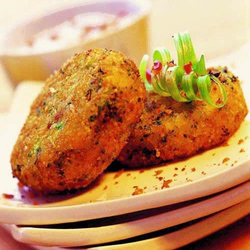 Индийские картофельные котлеты