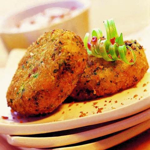 Готовое блюдо — Индийские картофельные котлеты