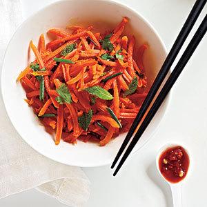Экзотический морковный салат