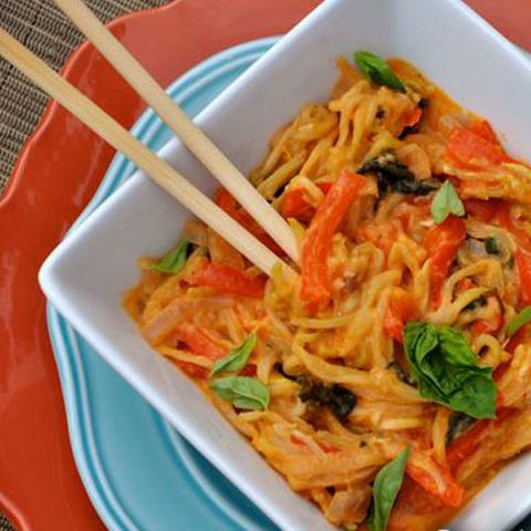 Готовое блюдо — Тайская лапша по-деревенски