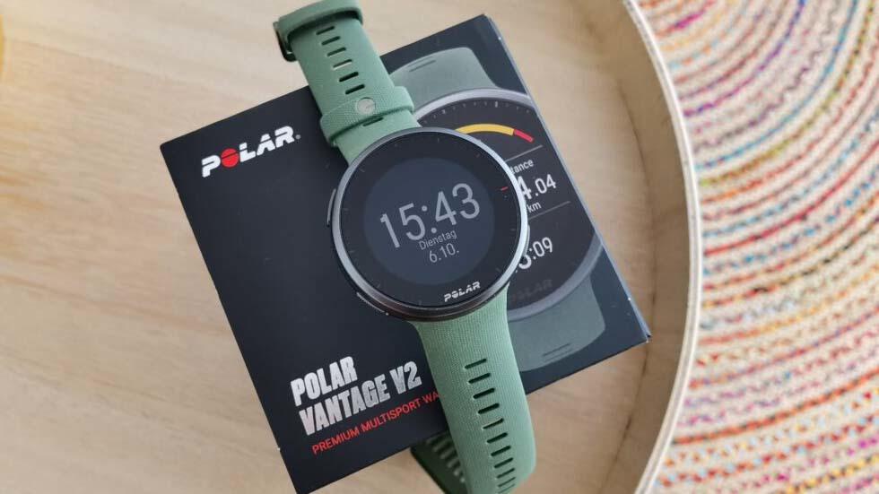 Polar Vantage V2 – первый взгляд на второе поколение флагманских часов от POLAR
