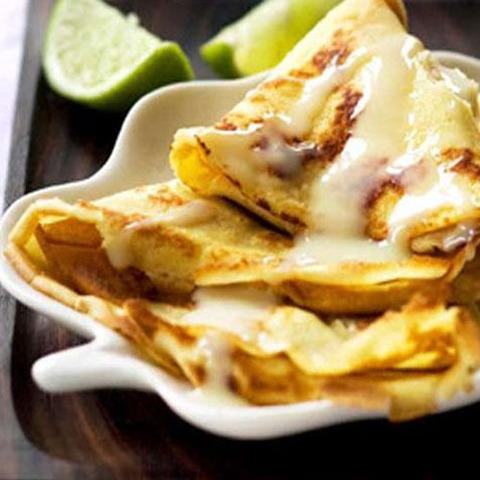 Готовое блюдо — Тайские банановые блины