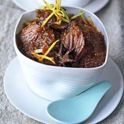 Готовое блюдо — Нежная говядина по-китайски