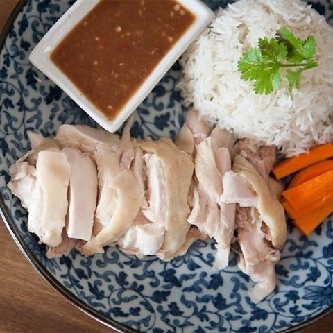 Готовое блюдо — Курица по-тайски с рисом