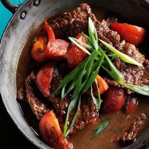 Готовое блюдо — Говядина со сладким соевый соусом