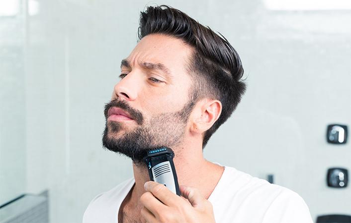 Как самостоятельно придать форму бороде