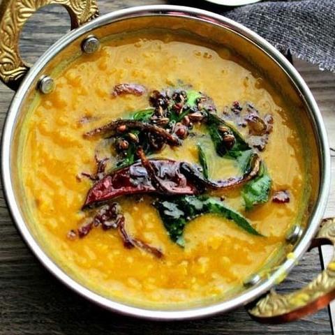 Готовое блюдо — Согревающий суп из чечевицы