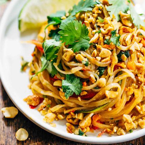 Готовое блюдо — Вегетарианский Пад Тхай