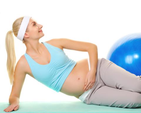 Гимнастика для беременных.