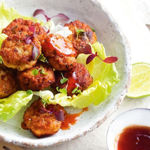 Готовое блюдо — Куриные котлеты по-тайски