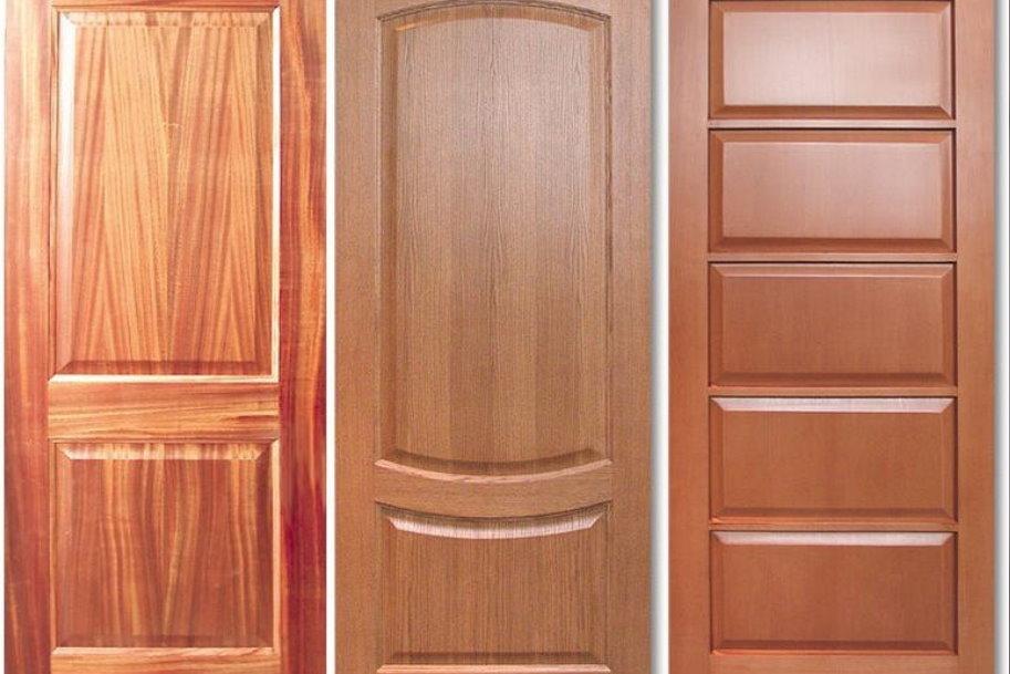 Как выбрать дверь с эмалью из массива дерева