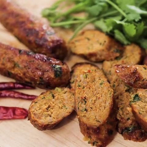 Готовое блюдо — Тайские сосиски