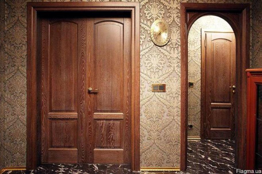 Преимущества межкомнатных эмалевых дверей из массива