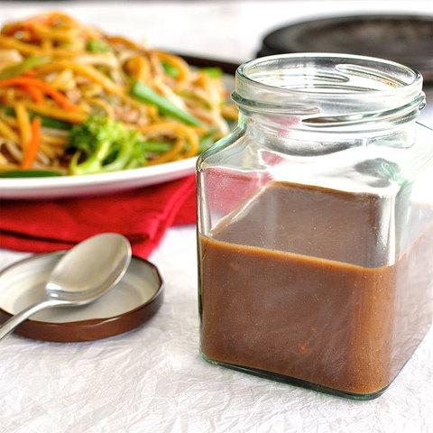 Готовое блюдо — Грибной соус для вока