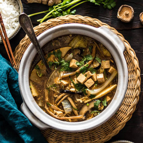 Китайский кисло-острый суп