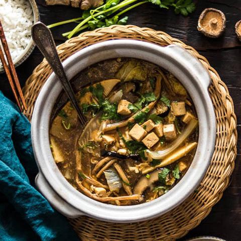 Готовое блюдо — Китайский кисло-острый суп