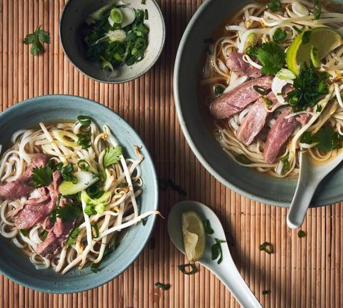 Готовое блюдо — Суп Фо Бо (экспресс рецепт)