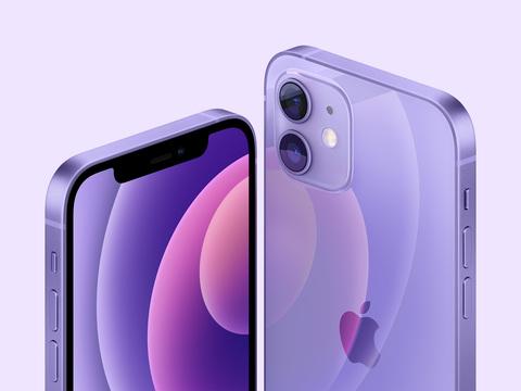 iPhone 12 в цвете Purple
