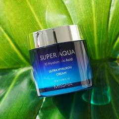 Обзор на крем MISSHA SUPER AQUA ULTRA HYALRON CREAM REVIEW