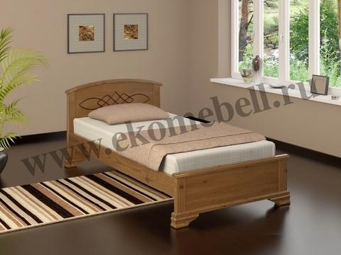 Особенности кровати из массива сосны.