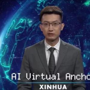 В Китае дебютировал робот-телеведущий