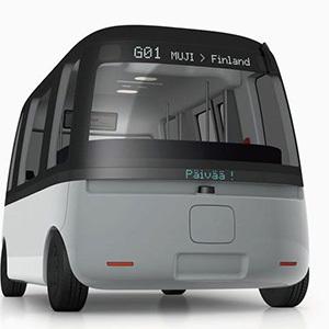 Автономный автобус покоряет Финляндию