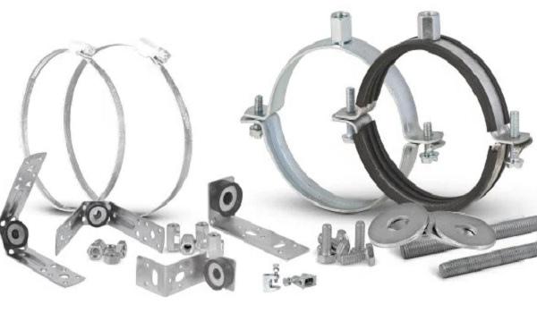 Монтаж вентиляции – разновидности крепежных элементов