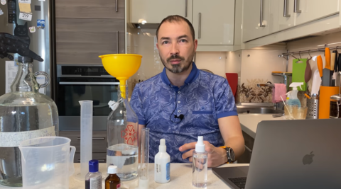 Как сделать антисептик! Боремся с коронавирусом COVID-19