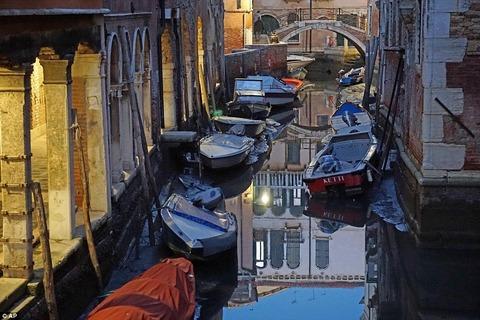 Куда делась вода из каналов в Венеции?