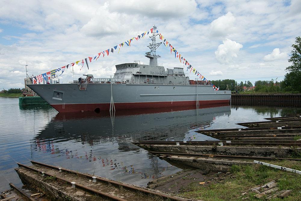 Инновации на флоте: изготовлены корпуса из композитных материалов
