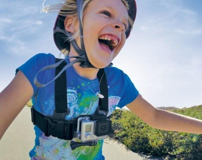 Детское крепление на грудь GoPro Jr. Chesty: Chest Harness