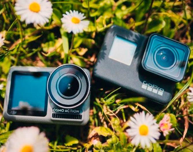 Сравним GoPro HERO7 Black, DJI Osmo Action и DJI Osmo Pocket