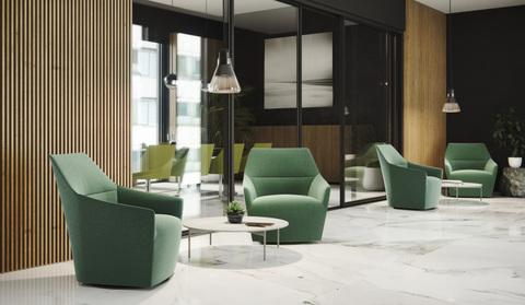 Элегантные  формы и линии кресла Chic FUS от Profim