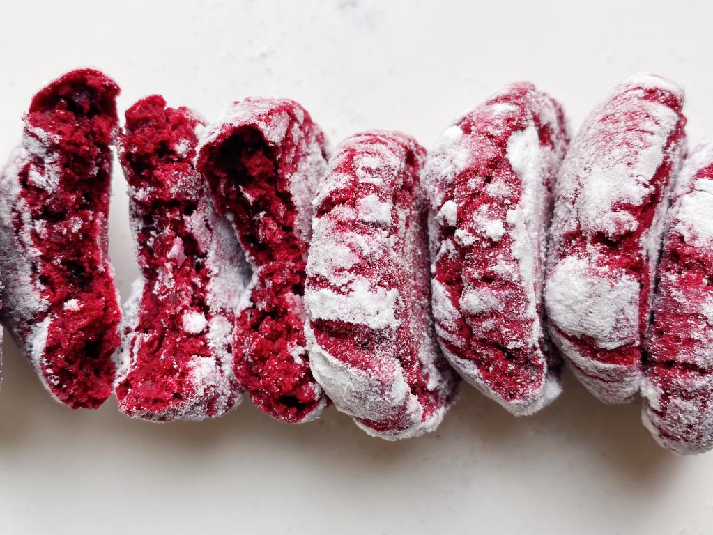 Печенье красный бархат 💘