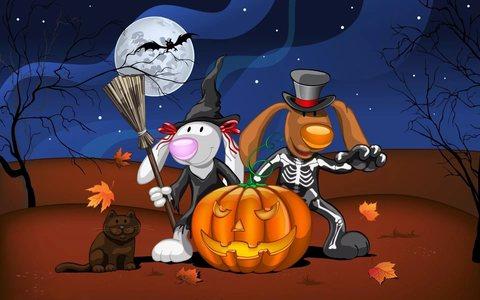 Тематические игры и конкурсы на Хэллоуин