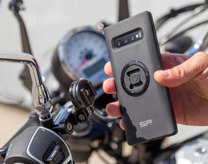 Обзор на крепление на руль мотоцикла SP Clutch Mount Pro