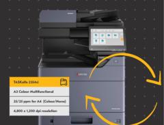 Новые цветные многофункциональные устройства формата A3: TASKalfa 3554ci и TASKalfa 2554ci.