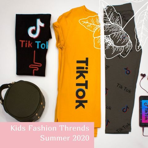 Kids Fashion Trends Summer 2020