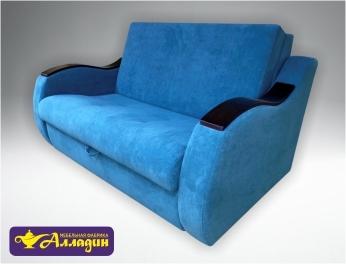 Яркий диван для небольшой комнаты АККОРДЕОН.