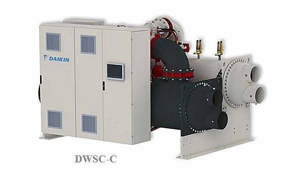Линейка центробежных чиллеров Daikin пополнилась моделью DWSC-C