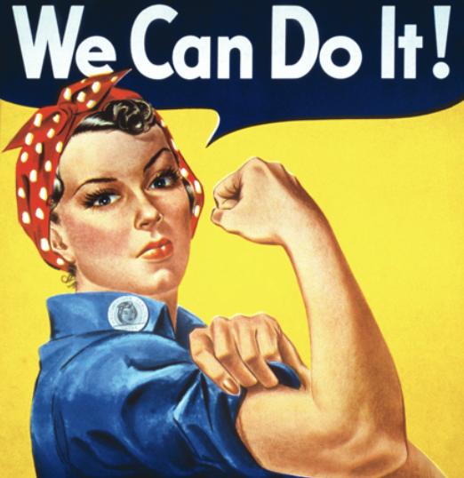 WE CAN DO IT! («Мы можем сделать это!»)