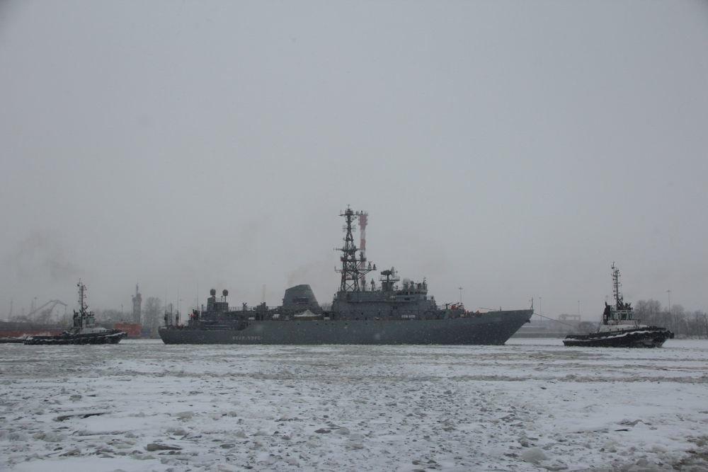 Корабль-разведчик проходит ходовые испытания