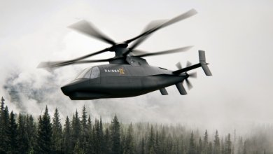 Вертолет-разведчик армии США