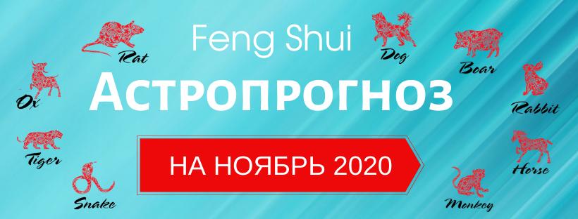 АСТРОПРОГНОЗ НА НОЯБРЬ 2020
