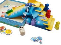Синий слоник - настольная игра для самых маленьких!