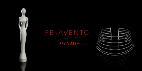 Прекрасные модели на Pesavento Awards 2018