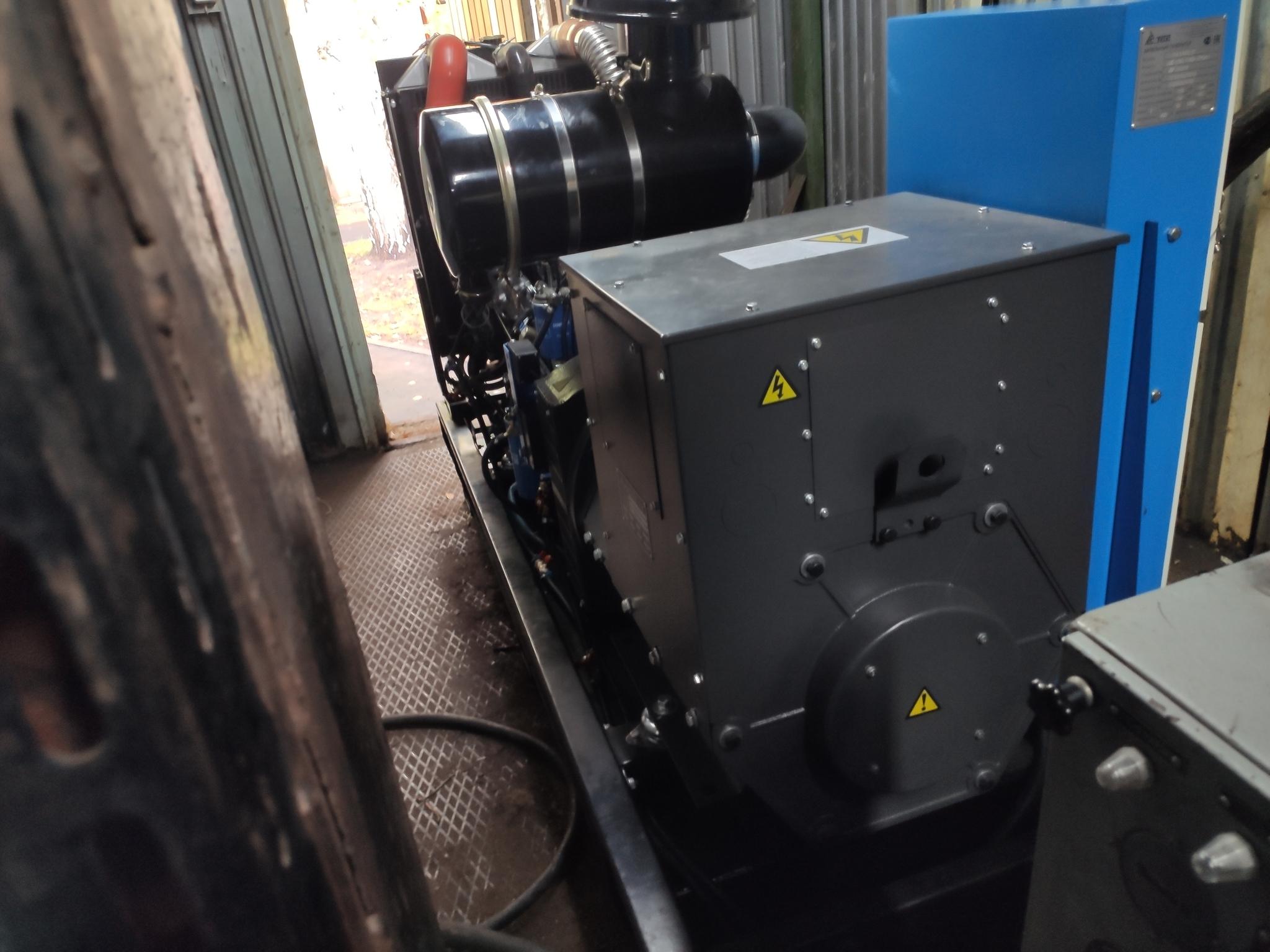 ДГУ 120 кВт для гостиничного комплекса в Самарской области