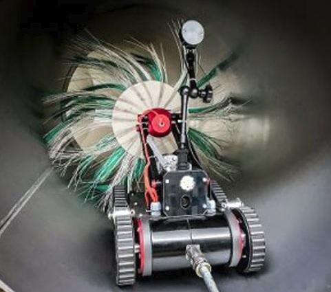 Инженеры WISAG Industry Service сконструировали воздуховодного робота- чистильщика