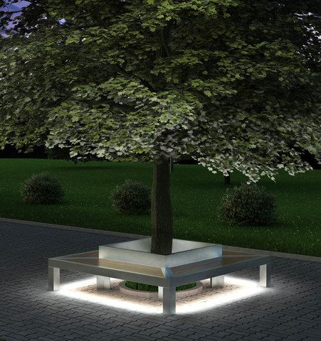 TRIF-MEBEL | Metal-And-Wood Park And Garden Furniture From A Russian Manufacturer