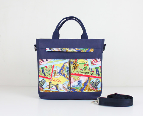 Шьем сумку с карманами